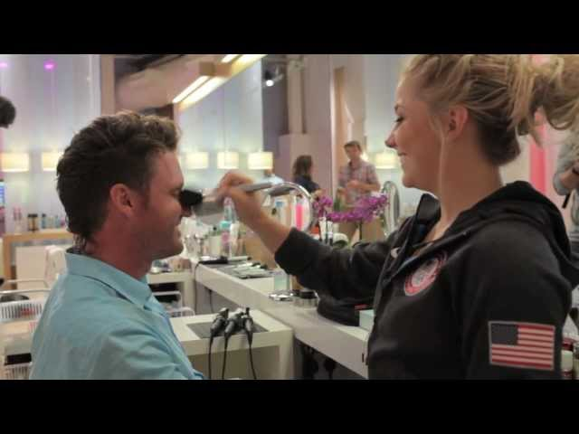 Shawn Johnson: ET / OOB Tour of P&G Family Home London 2012 - Extended Cut