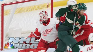 Detroit Red Wings vs. Minnesota Wild | CONDENSED GAME | 1/23/20 | NBC Sports