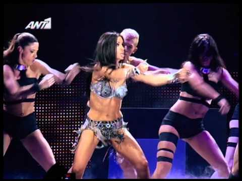 Eleni Foureira ft. Nevma - Fotia - Mad Video Music Awards 2012