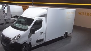 Opel Movano Platform Chassis L3H1 3.5t Exterior and Interior in 3D 4K UHD