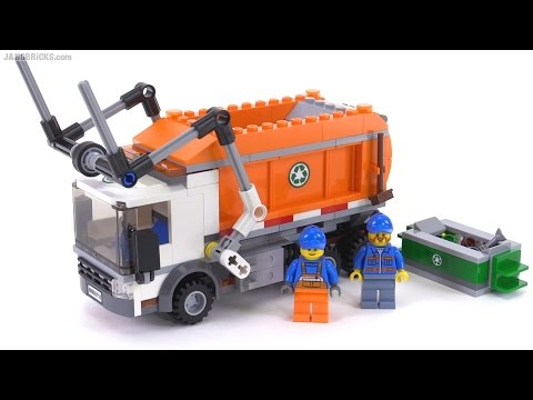LEGO City 2016 Garbage Truck review! set 60118