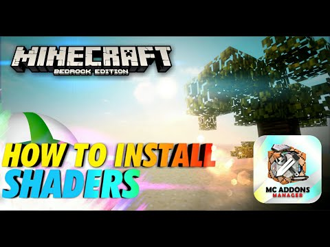 """How to Install """"Shaders"""" on Minecraft Bedrock Edition (Works on Xbox One, Series X