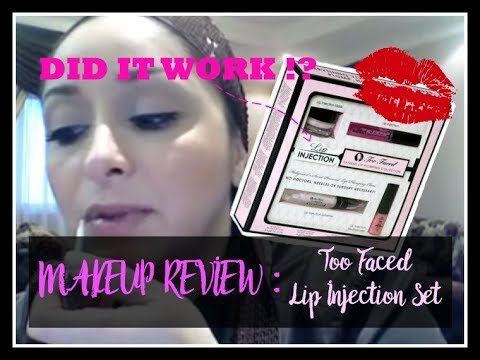 Too Faced Lip Injection Review