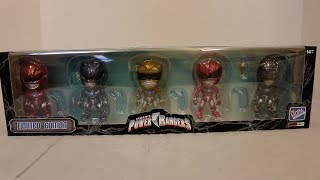 The Loyal Subjects Limited Edition Morphin Power Pack Review [Power Rangers Movie]