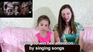 Khaab Akhil Reaction by Russian Mom and daughter (Cute Reaction)