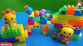 Đồ chơi trẻ em XẾP HÌNH SÁNG TẠO NHÀ CỦA KITY VÀ SÂU