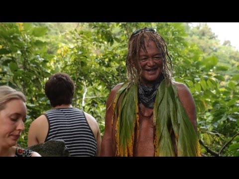 The Cook Islands, Cross Island Walk with Pa, Holiday Travel Video Guide