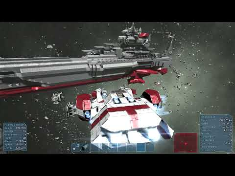 Space Engineers - Warheads, Torpedoes and Super Yamato Battleship!