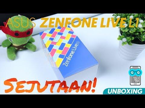 LENGKAP! ASUS Zenfone Live L1 (ZA550KL) - Unboxing, Hands-on, Tes Fitur Kamera, Face Unlock