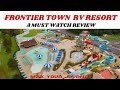 FRONTIER TOWN RV RESORT & CAMPGROUND [ OCEAN CITY MD /FULL REVIEW ] ▪︎▪︎》》MUST WATCH IF VISTING