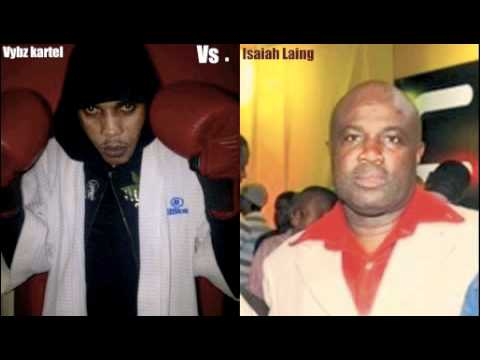 Vybz Kartel Interview with Cliff Hughes says isaiah laing threatens him & cory tod jan 2010 1of 2