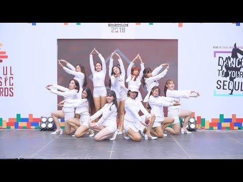 Download 181223 LUGIA cover IZONE  We Together  La Vie en Rose  Dance To Your Seoul 2018 Final