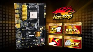 ECS A85F2-A GOLDEN - The World's First AMD Golden Board