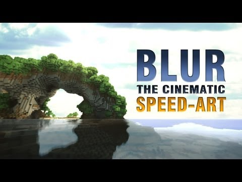 BLUR TEASER - Minecraft Cinematic Short (speed-art/behind the scenes)
