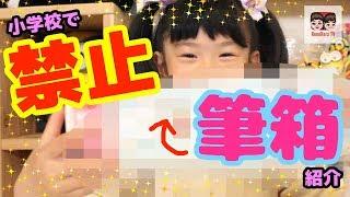 小学校で禁止の筆箱を紹介!でも可愛くてめっちゃ高機能なんだよ!High Tech Japanese Pencil Box 【#852】