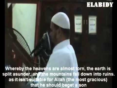 تلاوه مؤثره جدا للشيخ عبد الله كامل (مترجمه)very Emotional Quran Recitation (shiek Abdullah Kamel) video