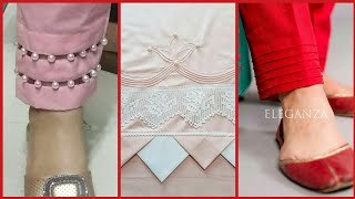 Top Trending 2019 Trousers and Shalwar bottom Designs