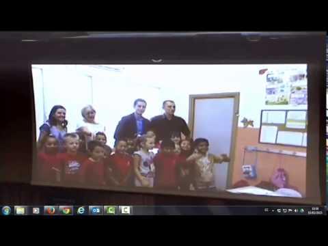 Presentación APS Colegio Santa Cruz de Mislata en el Scholas IV Global Congress en el Vaticano