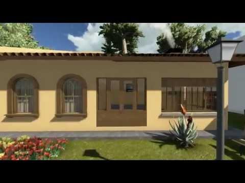 Projetos de casas modelo de uma edicula youtube for Modelos de casas procrear clasica
