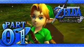 The Legend of Zelda: Ocarina of Time 3D (Master Quest) Part 1 - Great Deku Tree