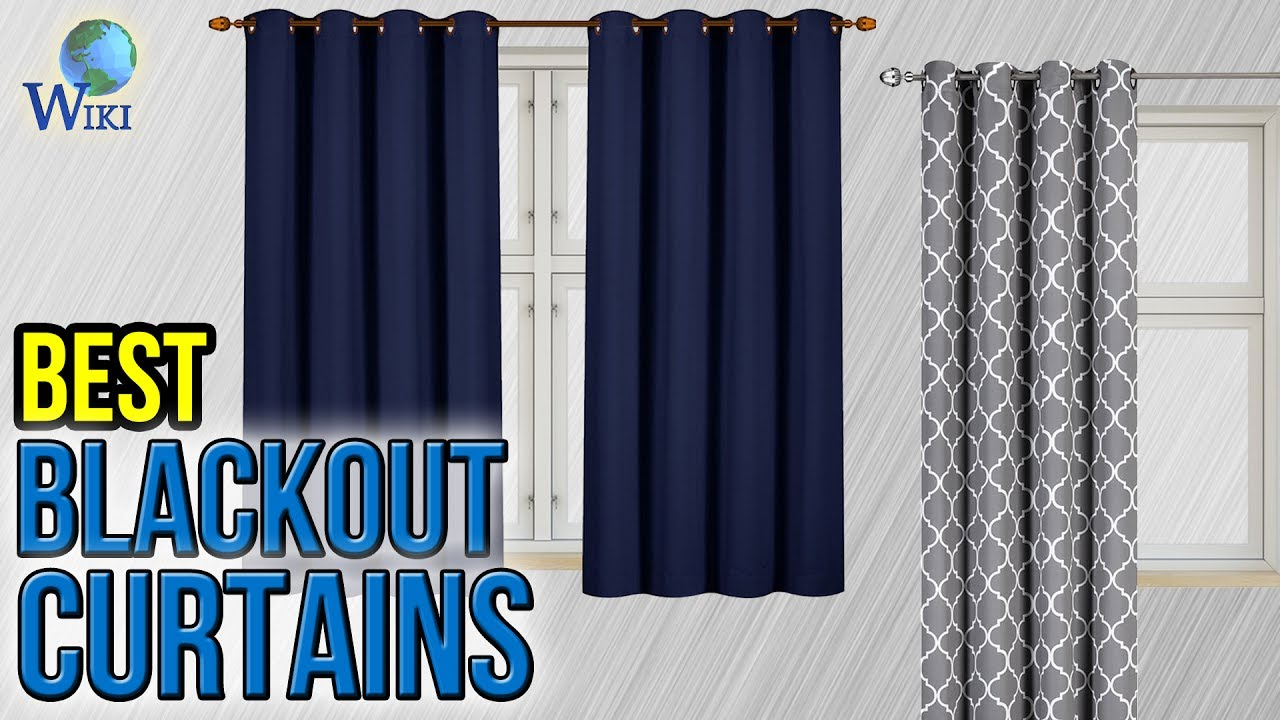 10 Best Blackout Curtains 2017 - YouTube