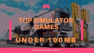 TOP 10 OFFLINE SIMULATOR GAMES Best 2018 FREE For Android/IOS