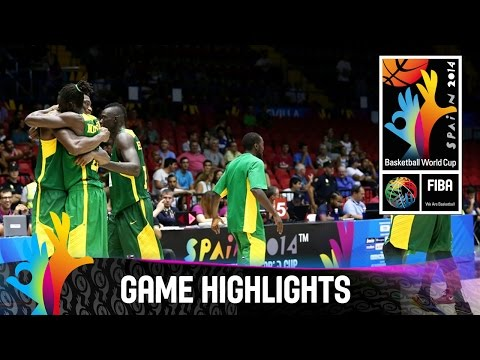 Croatia v Senegal - Game Highlights - Group B - 2014 FIBA Basketball World Cup