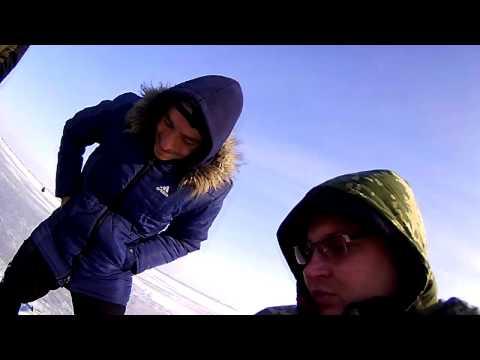 Зимняя Рыбалка  Кыргызстан озеро Спартак=Разведка