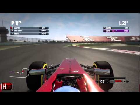 F1 2012 - Chinese Grand Prix Race Review by Harrison101HD