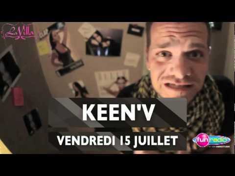 Keen'v à La Villa - Gruissan Le Vendredi 15 Juillet 2011 video