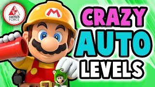 Super Mario Maker 2 - Most AMAZING Auto Levels!