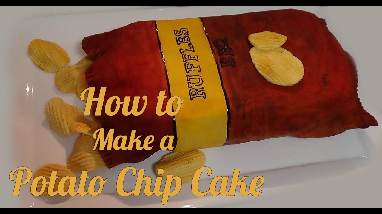 How To Make a Potato Chip Cake - YouTube