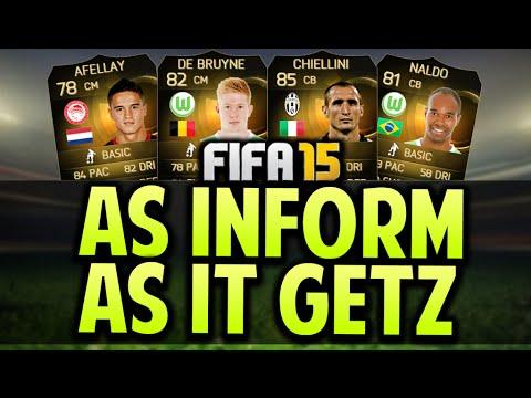 FIFA 15   Full INFORM Hybrid Squad Builder! INFORM! - Bundesliga   Serie A   Eredivisie - FIFA 15 UT