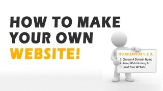 How To Make Your Own Website