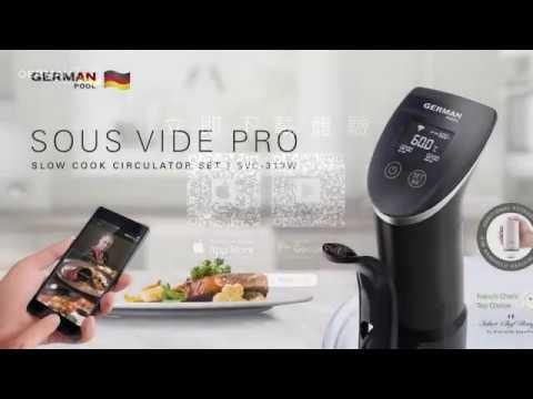 低温慢煮套装(Wi-fi版)(SVC-313W)产品介绍及操作说明