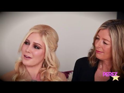 Perez Hilton Interviews Heidi Montag And Chats About Her Show, Spencer And Her Past With Perez