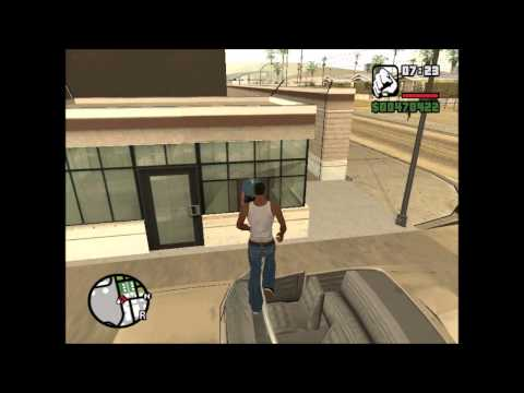 cj intenta pilotar un avion gta san andreas