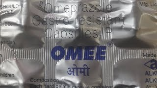 Omee capsule | gastric tablet review | uses | side effects | how to use | how it works | advises