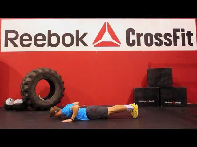 "Reebok CrossFit ONE Movement Demo ""Hand-Release Pushup"""