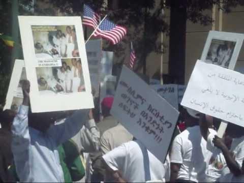bilal tube - Ethiopian Muslims and Christians Protesting may 31/2012