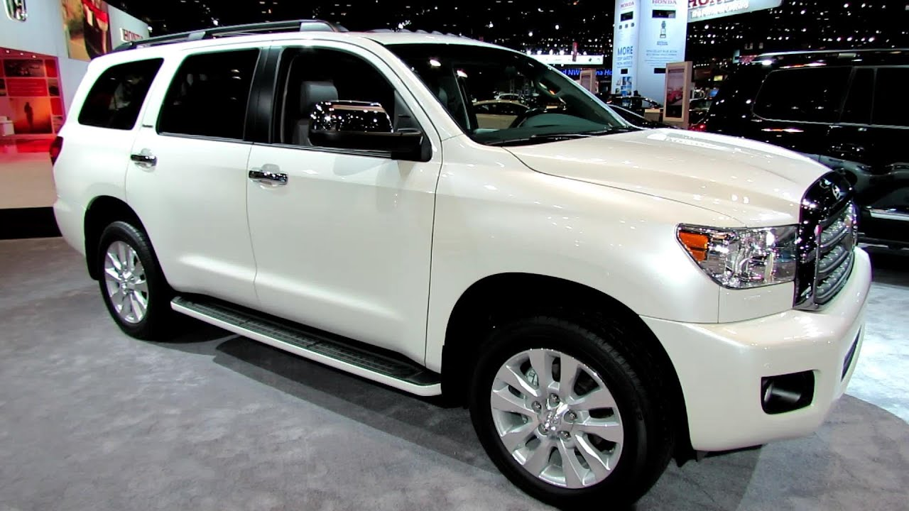 2014 Toyota Sequoia Platinum Exterior And Interior
