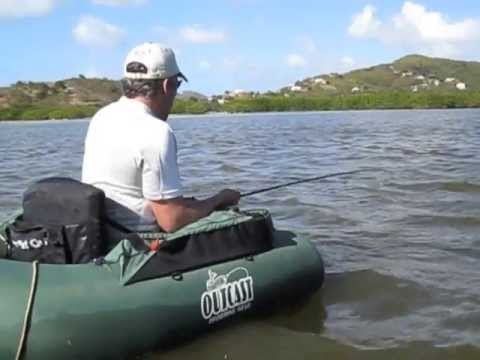 Antigua extreme fly fishing charters guided caribbean for Fly fishing float tube