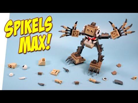 Lego Mixels Series 3 Gray Spikels Max Footi Scorpi & Hoogi Opening