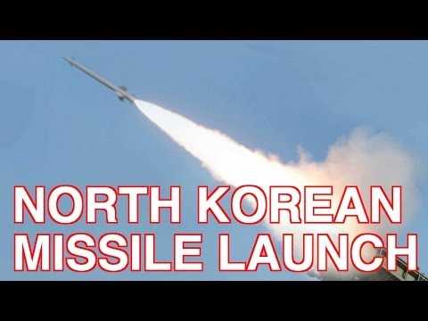 North Korea Launches Medium Range Missiles