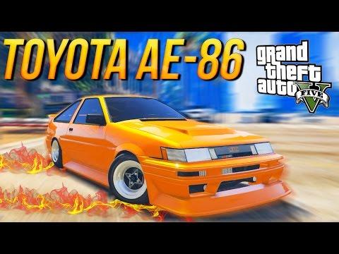 ГТА 5 МОДЫ: TOYOTA AE-86 - Настоящие Машины!