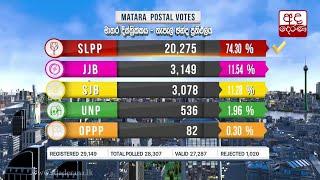 Polling Division - Postal-Votes-Matara