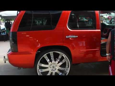 "CHEVY TAHOE ON 30"" ASANTI'S!!! FOOTAGE!!"