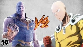 One Punch Man vs Thanos