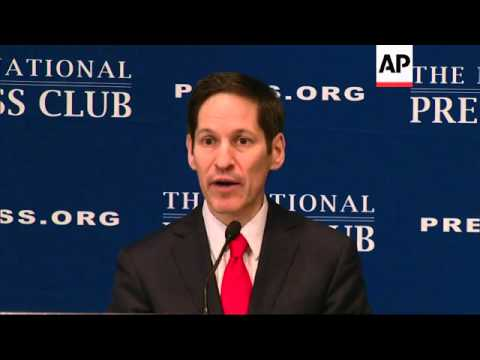 Sounding alarms about the growing threat of antibiotic resistance, CDC Director Tom Frieden warned T