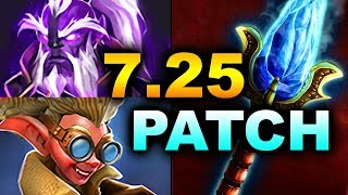 7.25 NEW PATCH - BIGGEST CHANGES! - NEW AGHANIMS DOTA 2